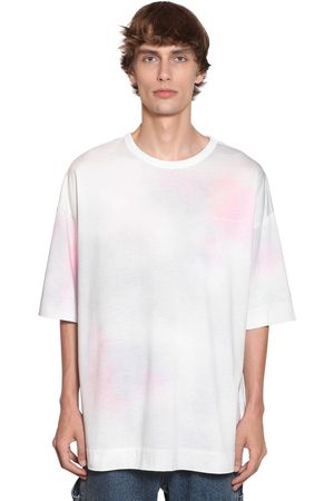 JUUN.J Men Neckties - Tie Dyed Cotton Jersey T-shirt