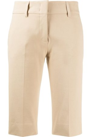 PIAZZA SEMPIONE Slim-fit tailored-style shorts