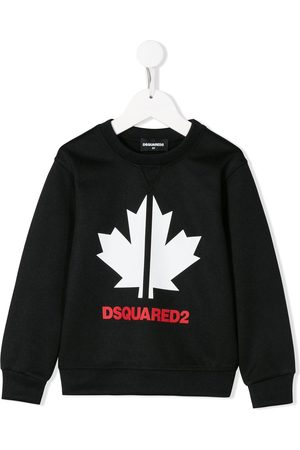 Dsquared2 Maple leaf-print relaxed-fit sweatshirt