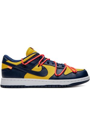 Nike Off-White Dunk Low 'University Gold' sneakers