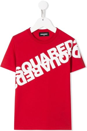 Dsquared2 Mirrored logo print T-shirt