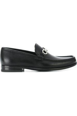 Salvatore Ferragamo Gancini Reversible Bit loafers