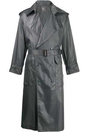 Issey Miyake 1970's double breasted trench coat