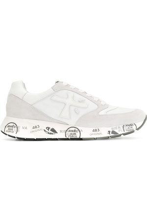 White Premiata Lucy low-top sneakers