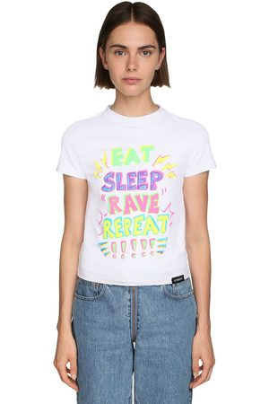 Vetements Printed Cotton Jersey T-shirt