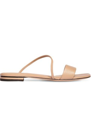 MARA&MINE Women Flats - 10mm Leather Slide Flats