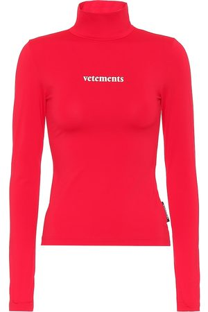 Vetements Logo turtleneck top
