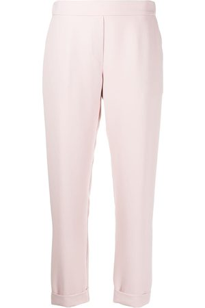 P.a.r.o.s.h. Plain slim-fit trousers