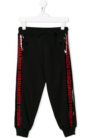 Dsquared2 Kids Logo trim track pants