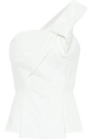 Roland Mouret Whitefield crêpe top