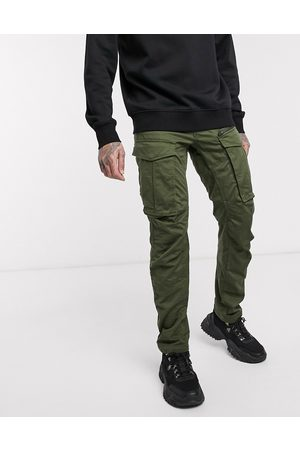 G-Star Rovic Zip 3D straight tapered fit trousers in khaki