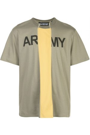 MOSTLY HEARD RARELY SEEN Cut Out army logo T-shirt