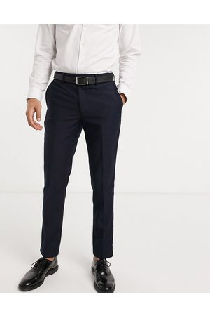 French Connection Slim fit tuxedo suit trousers