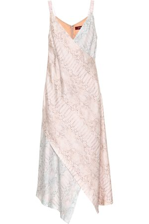 Sies marjan Printed silk midi dress