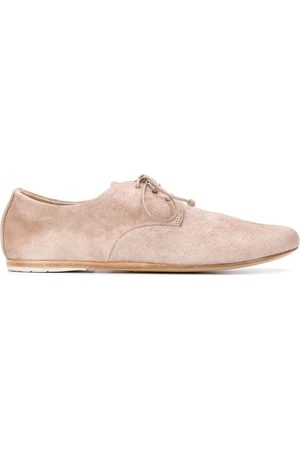 MARSÈLL Textured lace-up shoes