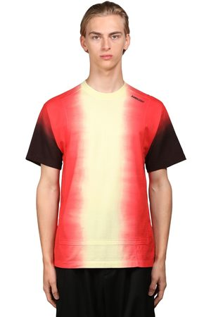 AMBUSH Men Neckties - Logo Tie Dye Cotton Jersey T-shirt
