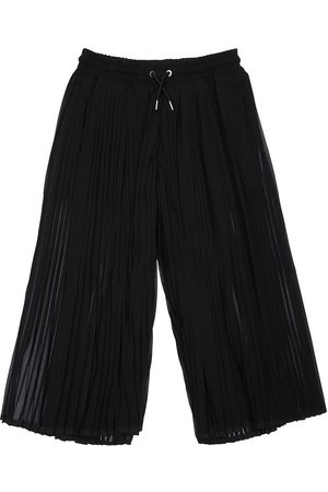 Diesel Girls Wide Leg Pants - Plisse Georgette Wide Leg Pants