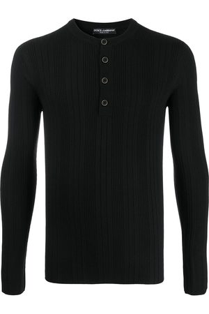 Dolce & Gabbana Ribbed henley top