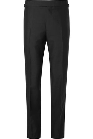 KINGSMAN Eggsy's Wool And Mohair-blend Tuxedo Trousers