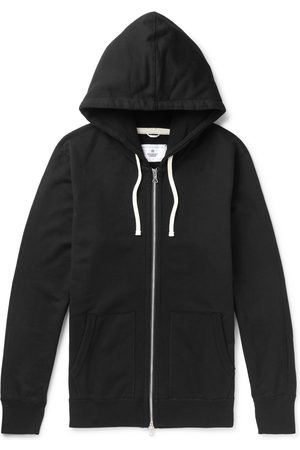 Reigning Champ Loopback Cotton-jersey Zip-up Hoodie