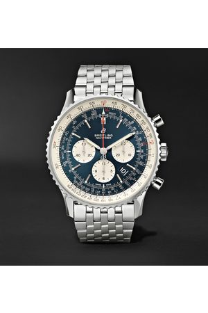 Breitling Navitimer 1 Chronograph 46mm Steel Watch, Ref. No. Ab0127211c1a1
