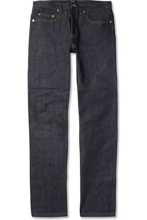 A.P.C New Standard Dry Selvedge Denim Jeans
