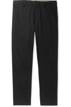 NN.07 Theo Slim-fit Tapered Cotton-blend Chinos