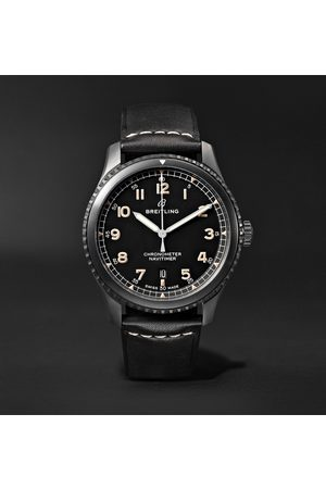 Breitling Men Watches - Navitimer 8 Automatic 41mm Steel and Leather Watch, Ref. No. M17314101B1X1
