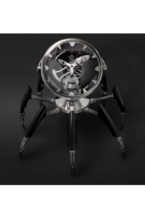 MB&F Men Watches - Octopod Hand-wound Stainless Steel, Nickel And Palladium-plated Table Clock, Ref. No. 11.6000/201