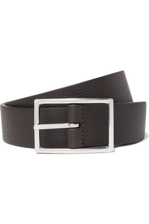 Anderson's 3cm And Dark-brown Reversible Leather Belt