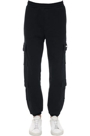 BUSCEMI Cargo Cotton Blend Sweatpants