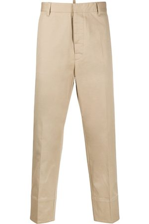 Dsquared2 Cuffed straight-leg chino trousers