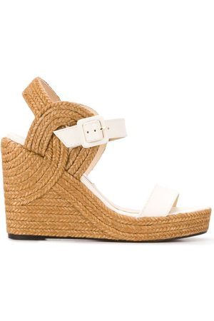 Jimmy Choo Delphi 100mm wedge sandals
