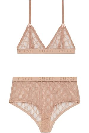 Gucci GG tulle lingerie set
