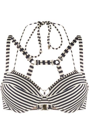 Marlies Dekkers Striped push-up bikini top