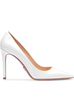Prada Iridescent pointed-toe pumps