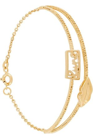 WOUTERS & HENDRIX Mouth chain-embellished bracelet