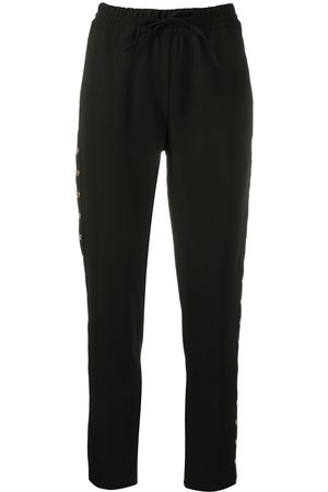 LIU JO High-rise drawstring trousers
