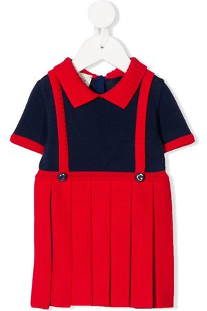 Gucci Baby Knitted Dresses - Pinafore knit dress