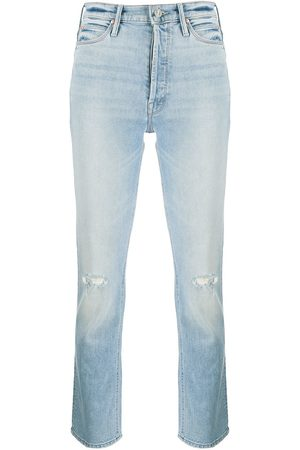 Mother Dazzler mid-rise slim jeans