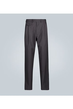Rochas Double-pleated wool pants