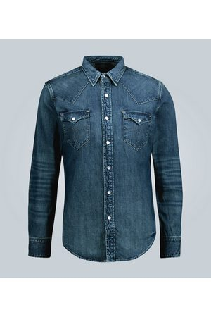 RRL Slim-fit denim shirt
