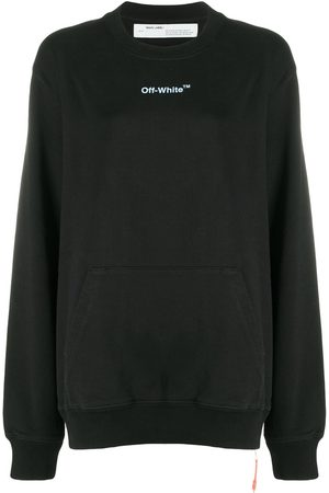 OFF-WHITE ARROW SKETCH REGULAR CREWNECK WHIT