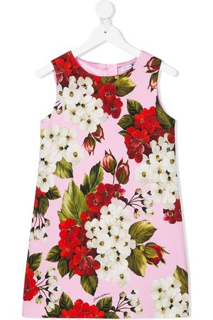 Dolce & Gabbana Floral sleeveless shift dress