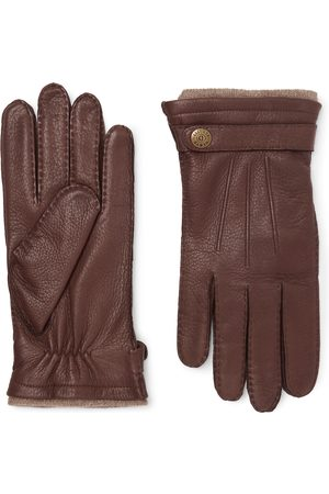 Dents Men Gloves - Gloucester Cashmere-Lined Leather Gloves