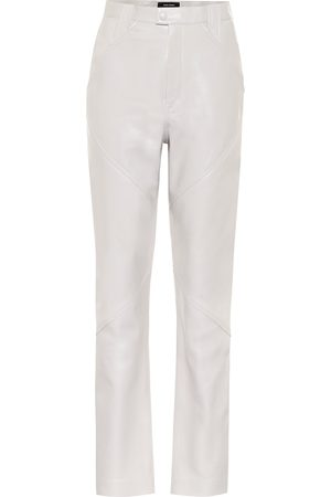 Isabel Marant Xenia high-rise leather pants