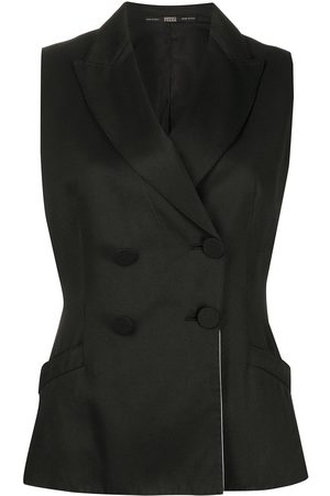 Gianfranco Ferré 1990s slim-fit double-breasted waistcoat