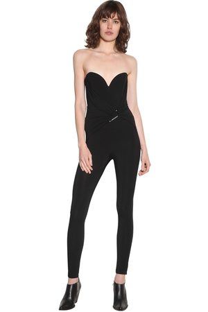UNRAVEL Stretch Jersey Jumpsuit