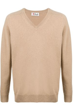 PRINGLE OF SCOTLAND Ribbed V-neck jumper