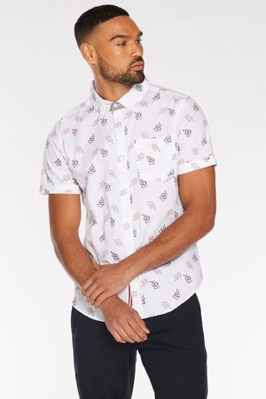 Quiz Short Sleeve Snake Print Shirt in